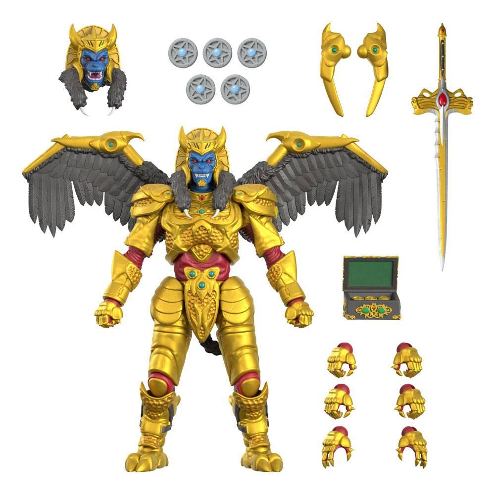 Mighty Morphin Power Rangers Ultimates Action Figure Goldar 20 cm