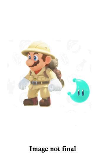 World of Nintendo Action Figure Wave 15 Odyssey Explorer Mario with Moon 10 cm