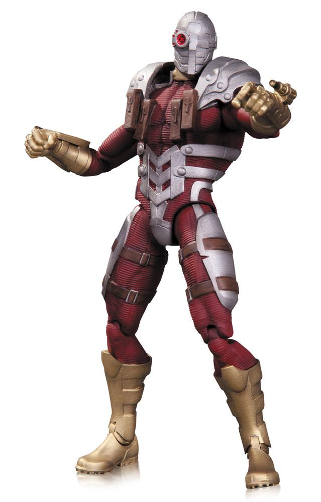 DC Comics Super Villains Action Figure Suicide Squad Deadshot (The New 52) 17 cm --- DAMAGED PACKAGI