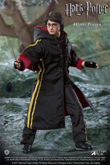 Harry Potter MFM Action Figure 1/8 Harry Potter Triwizard Tournament Quidditch Ver. 23 cm