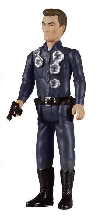 Terminator 2 ReAction Action Figure T-1000 Patrolman Final Battle 10 cm