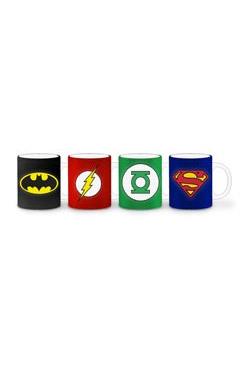 DC Comics Espresso Set Heroes