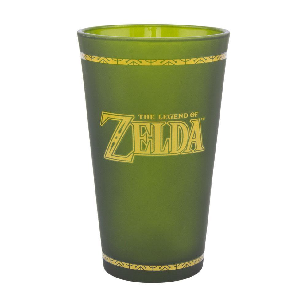 Legend of Zelda Glass Hyrule Crest
