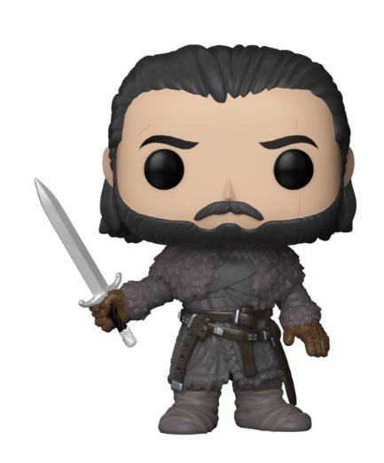 Game of Thrones POP! TV Vinyl Figure Jon Snow (Beyond the Wall) 9 cm