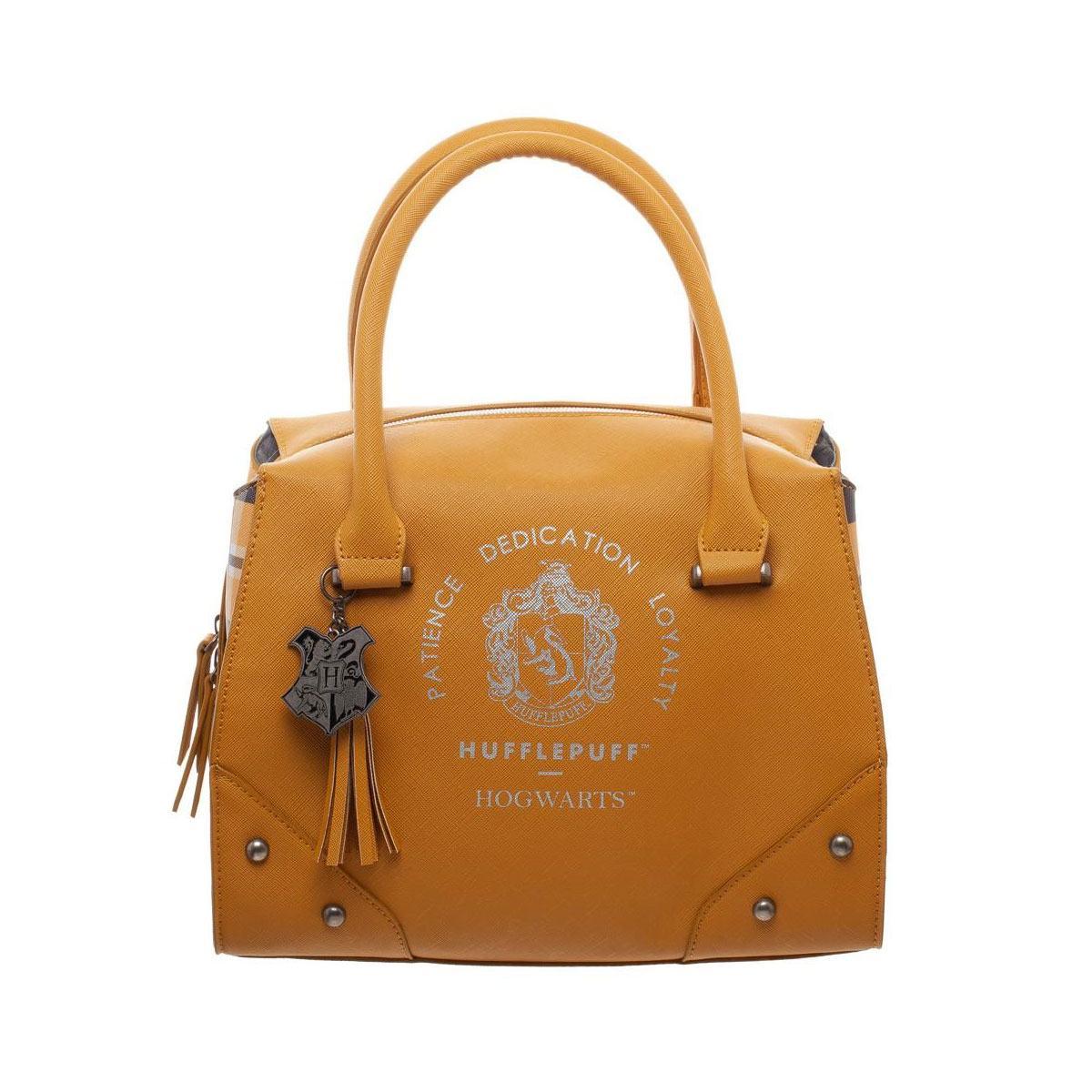 Harry Potter Handbag Hufflepuff Plaid Top