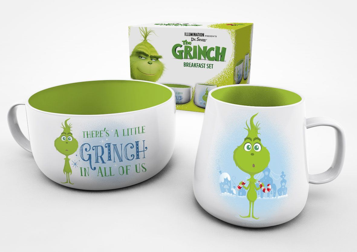 The Grinch Breakfast Set Grinch In Training