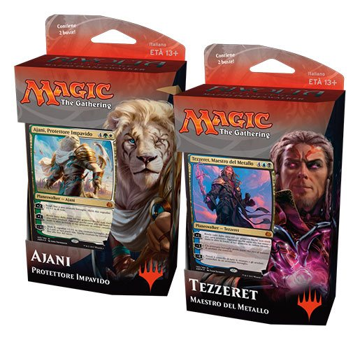Magic the Gathering Rivolta dell'Etere Planeswalker Decks Display (6) italian