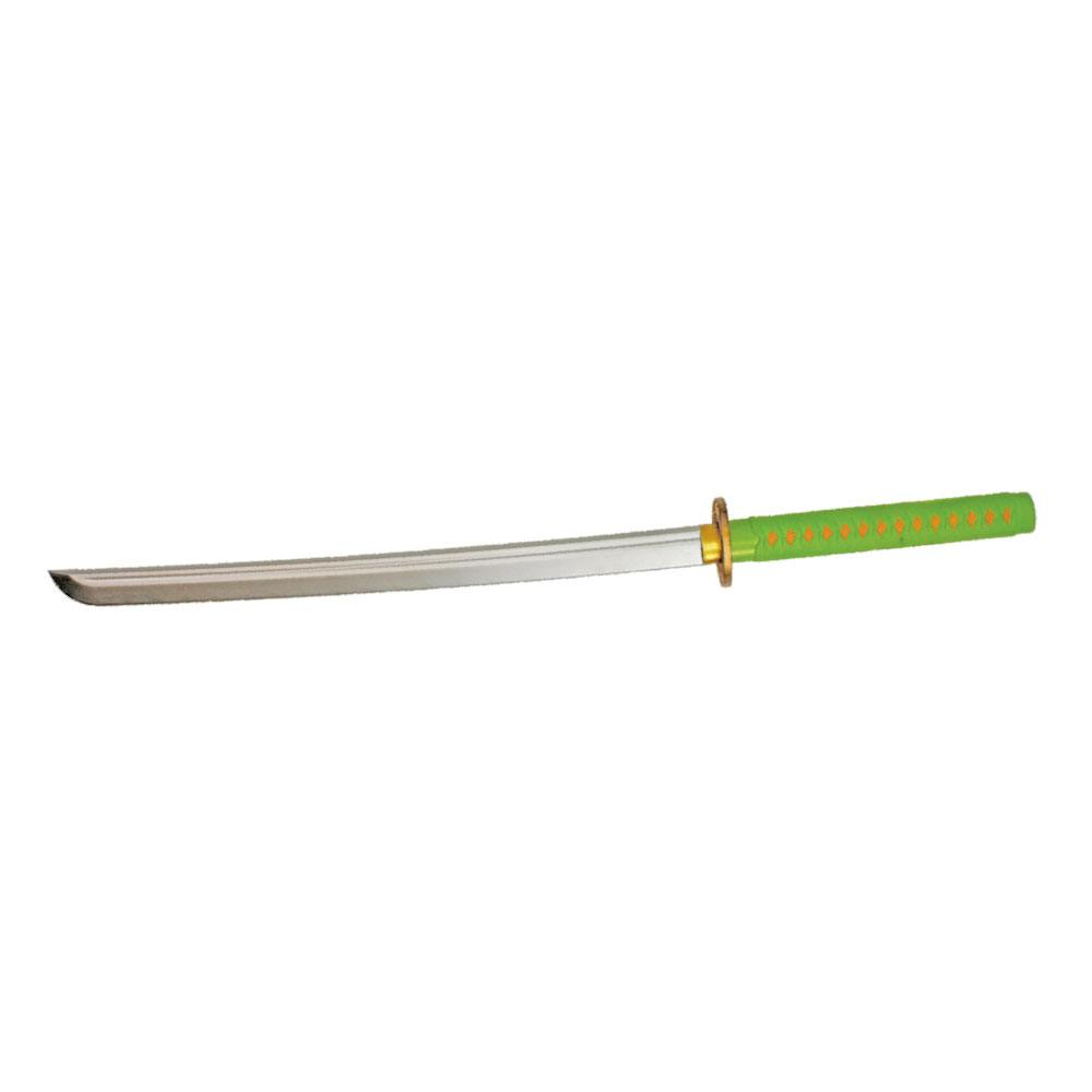 Fruit Ninja Foam Replica Katana green/yellow 97 cm