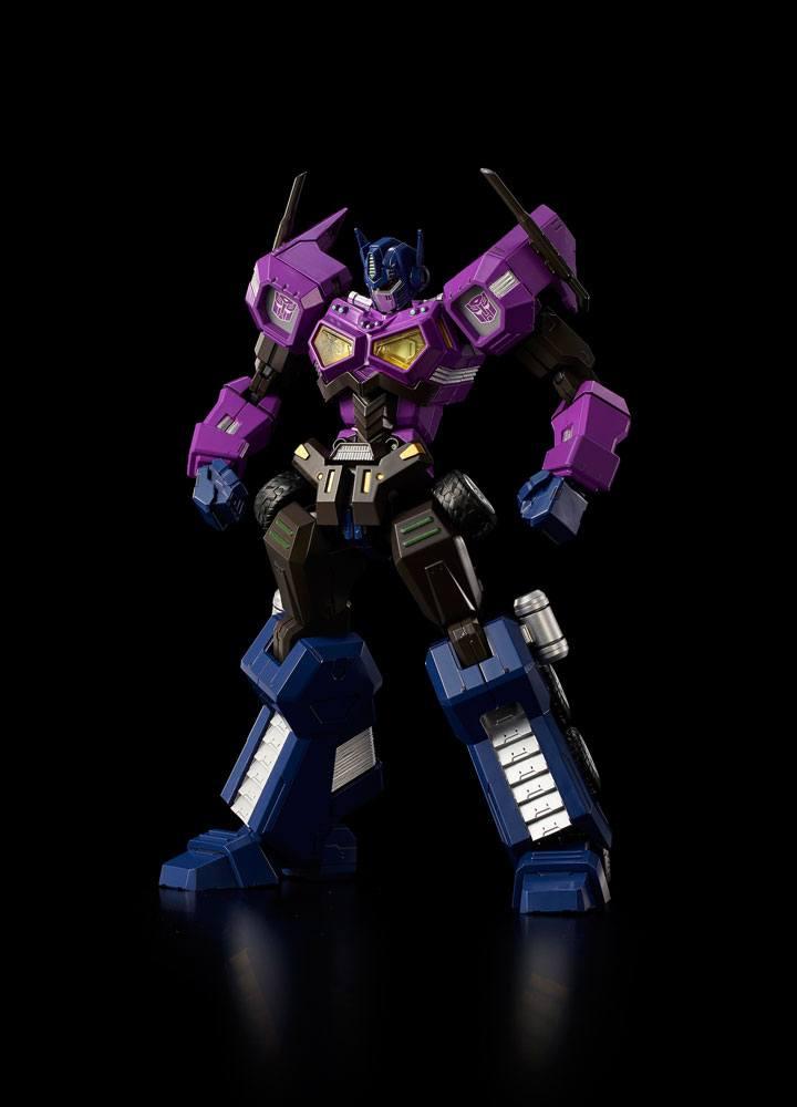 Transformers Furai Model Plastic Model Kit Shattered Glass Optimus Prime (Attack Mode) 15 cm