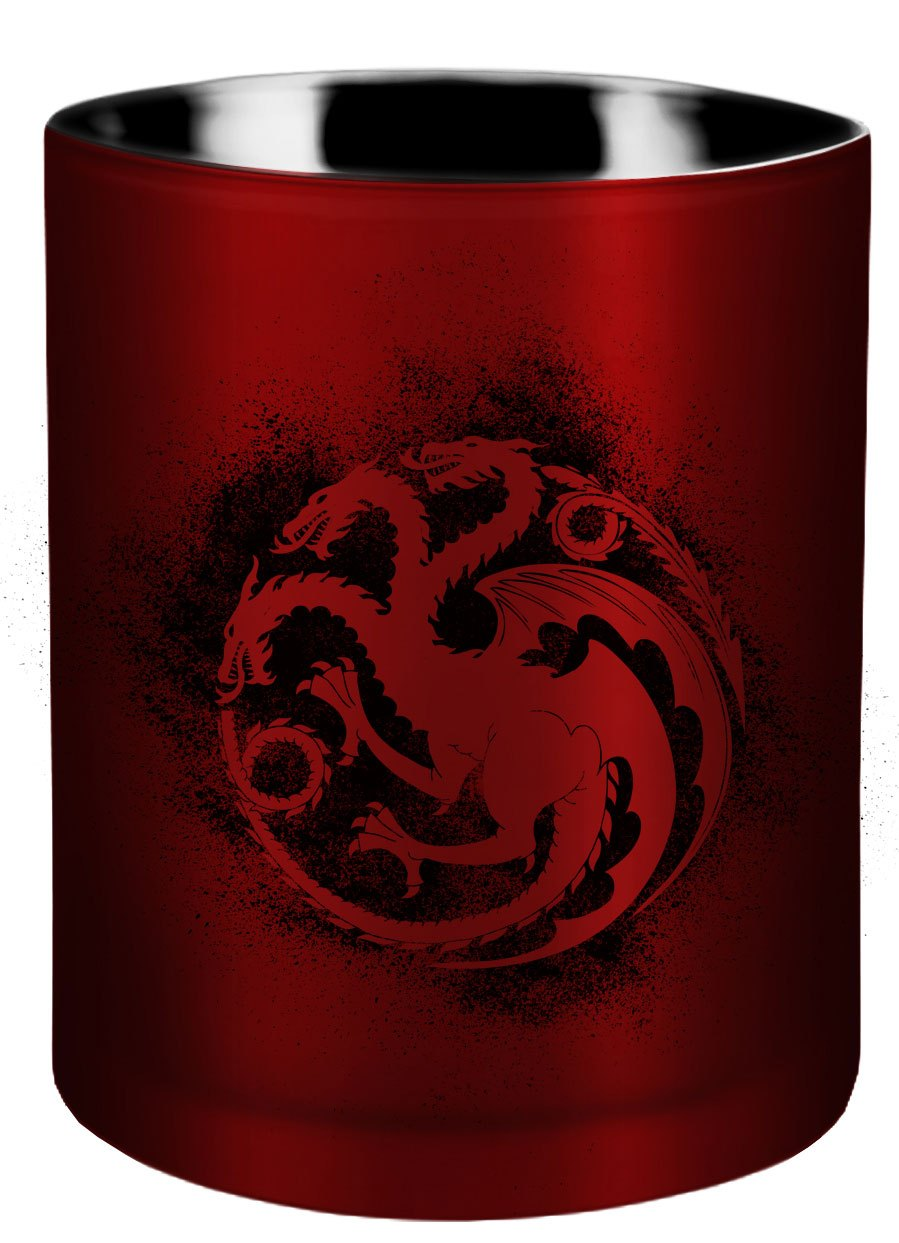 Game of Thrones Glass Candle House Targaryen 8 x 9 cm