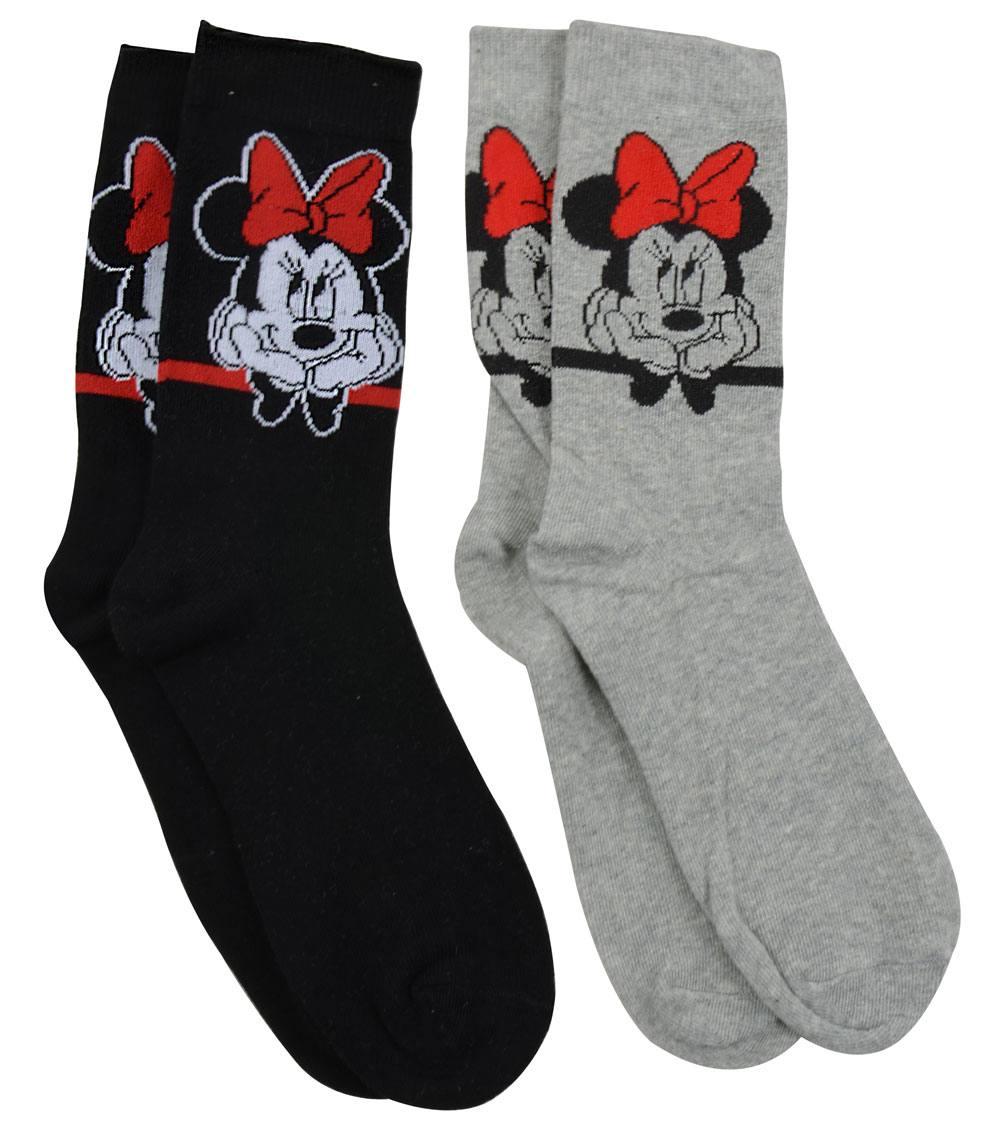 Disney Socks 2-Pack Minnie Size M
