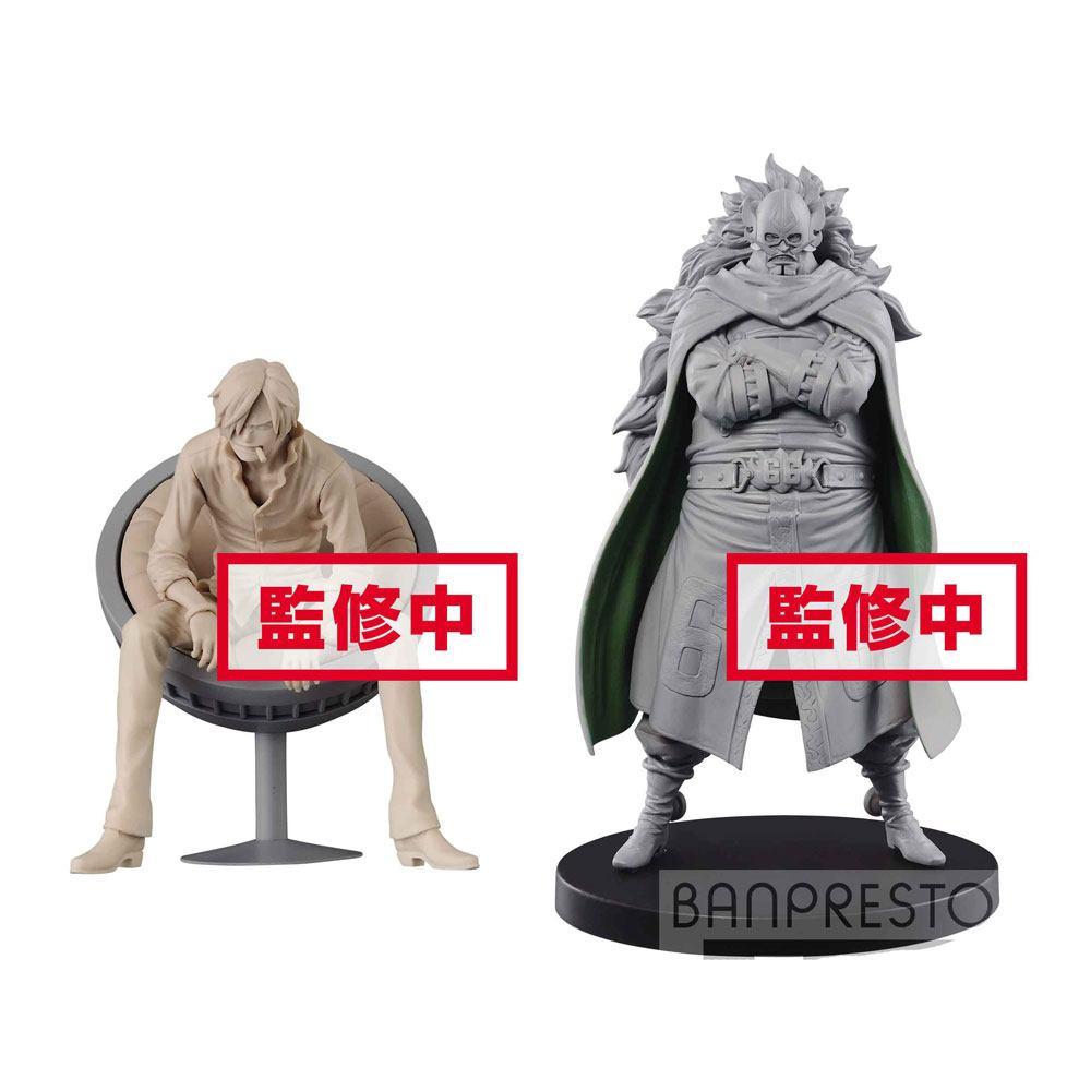 One Piece DXF Grandline Men Vinsmoke Family Vol. 3 Figures 11 cm Assortment Sanji & Judge (2)