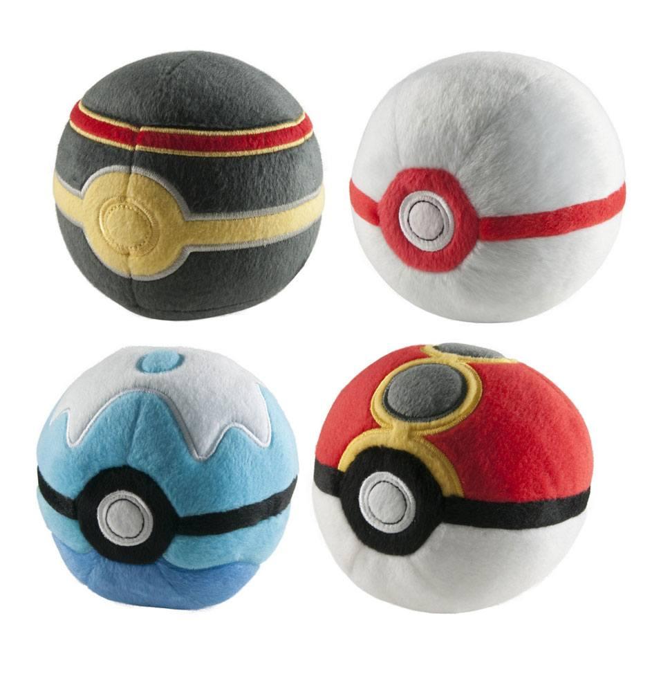 Pokemon Plush Pokeballs 7 cm Display D2 (6)