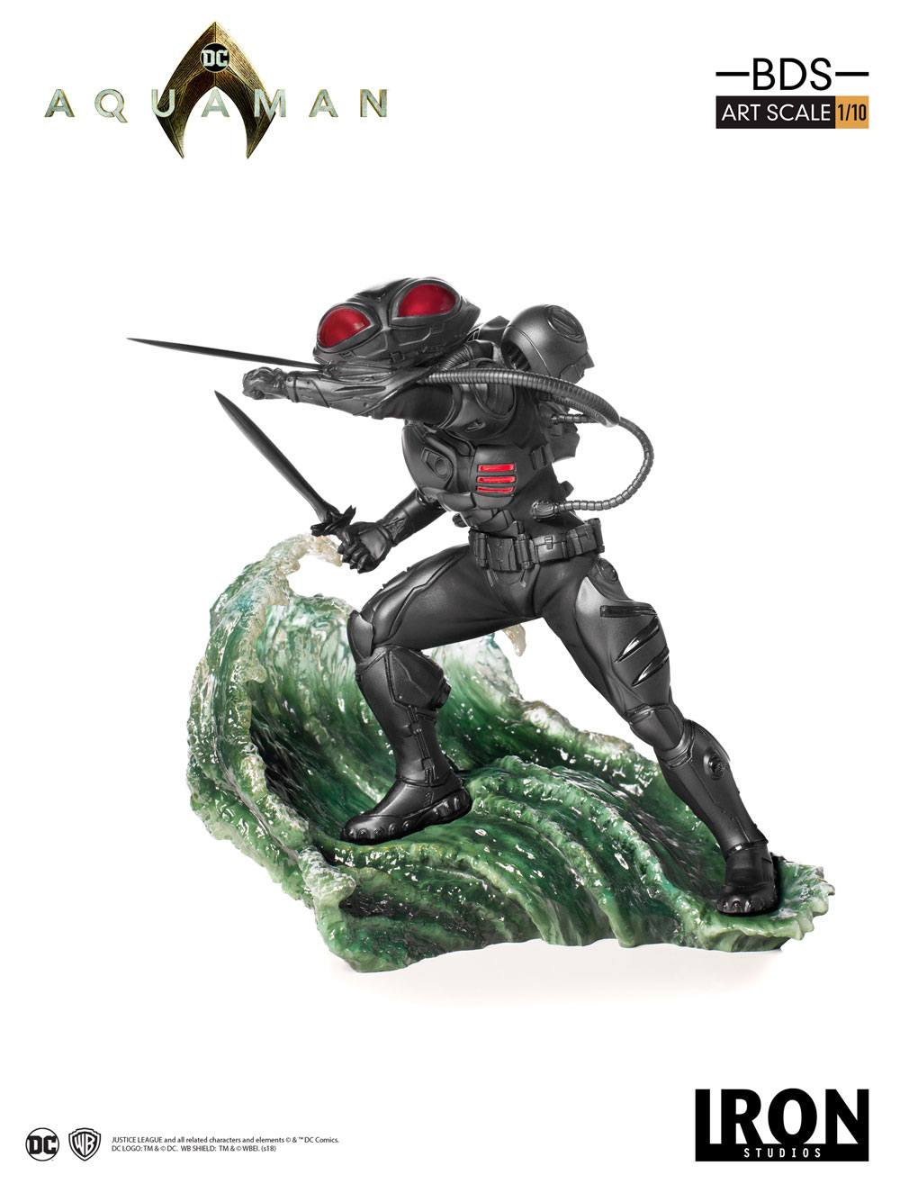 Aquaman BDS Art Scale Statue 1/10 Black Manta 20 cm