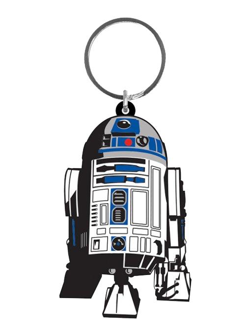 Star Wars Rubber Keychain R2-D2 6 cm