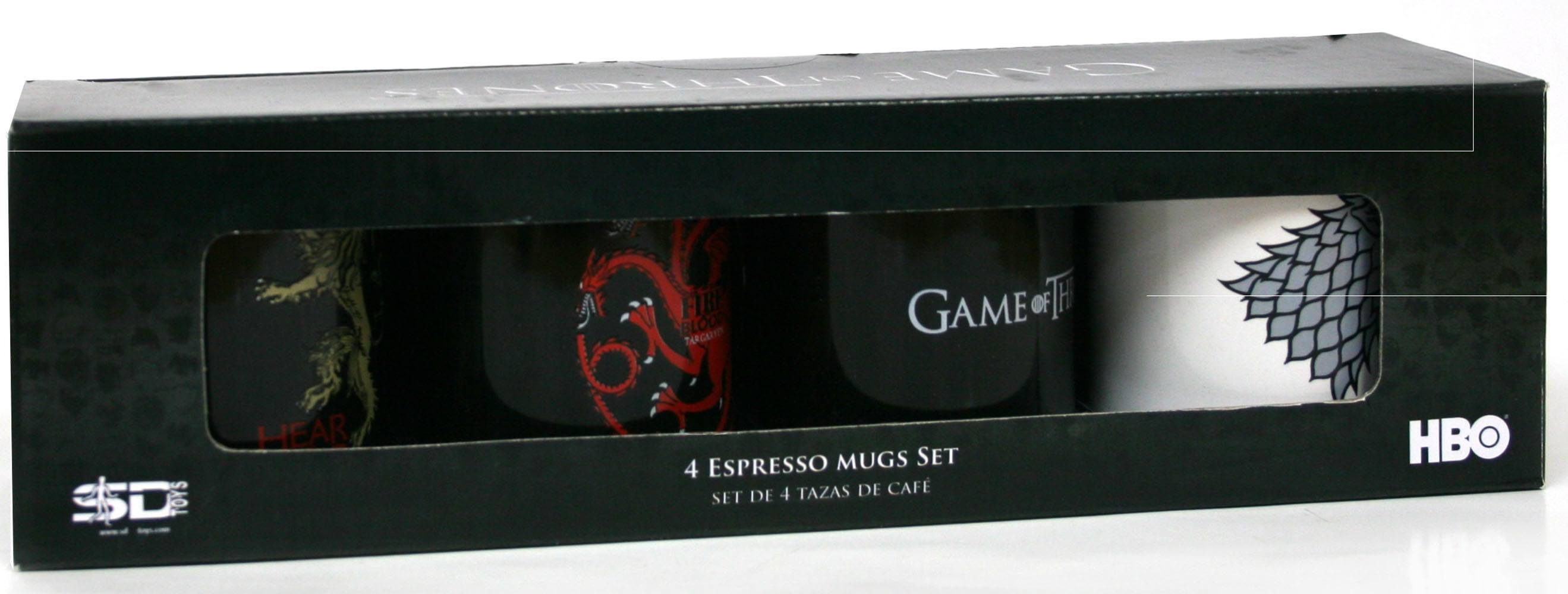 Game of Thrones Espresso Mugs Set