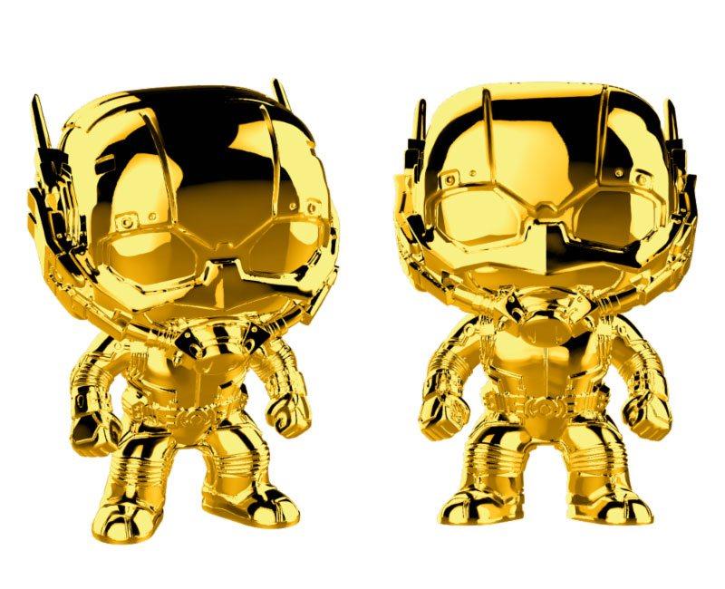 Marvel Studios 10 POP! Marvel Vinyl Figure Ant-Man (Chrome) 9 cm