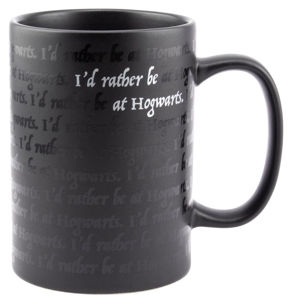Harry Potter Mug I Would Rather Be At Hogwarts
