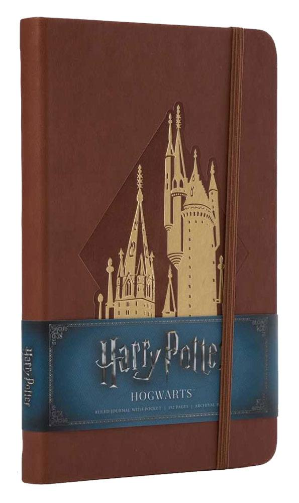 Harry Potter Hardcover Ruled Journal Hogwarts New Design