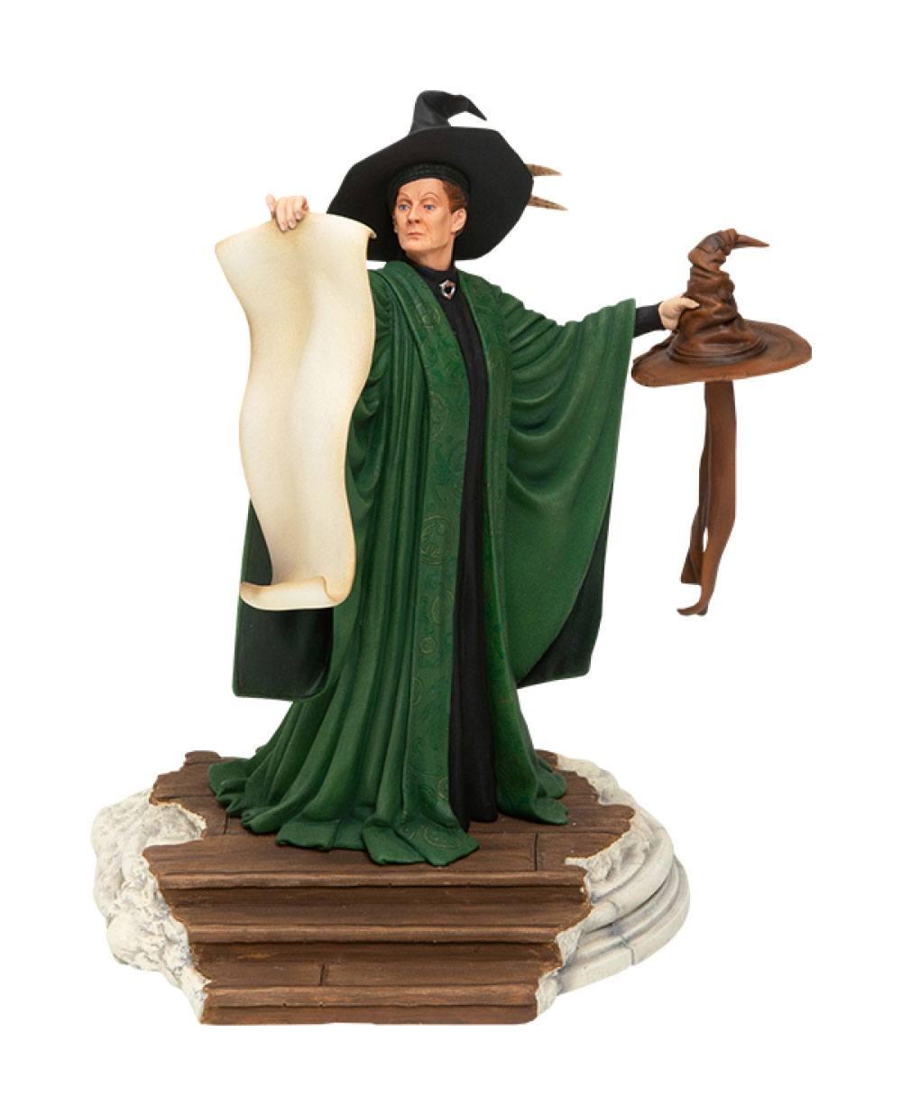 Harry Potter Statue Professor McGonagall with Sorting Hat 25 cm