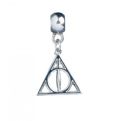 Harry Potter Charm Deathly Hallows (silver plated)