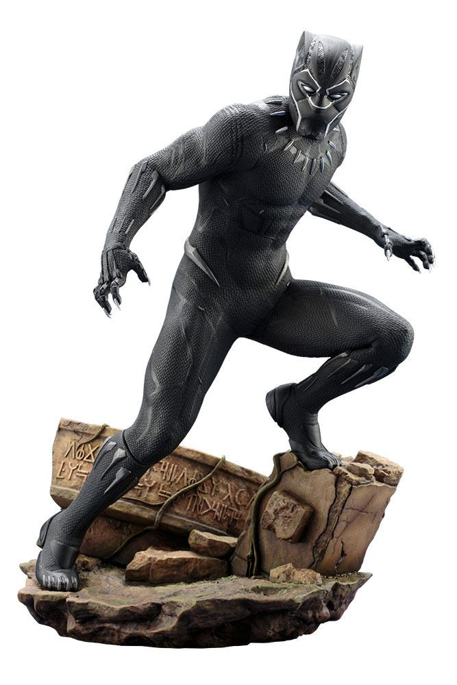 Black Panther Movie ARTFX Statue 1/6 Black Panther 32 cm --- DAMAGED PACKAGING