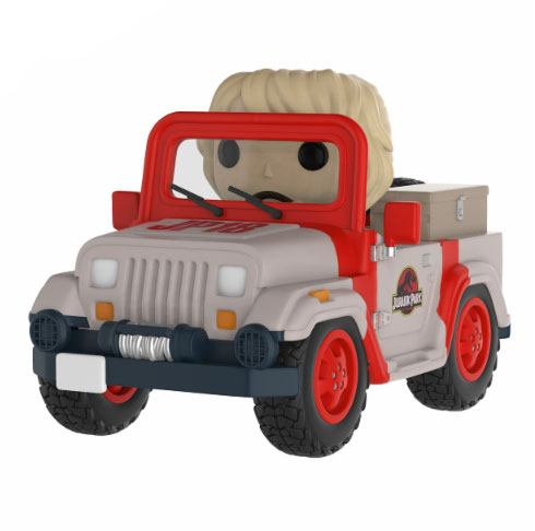Jurassic Park POP! Rides Vinyl Figure Park Vehicle 15 cm