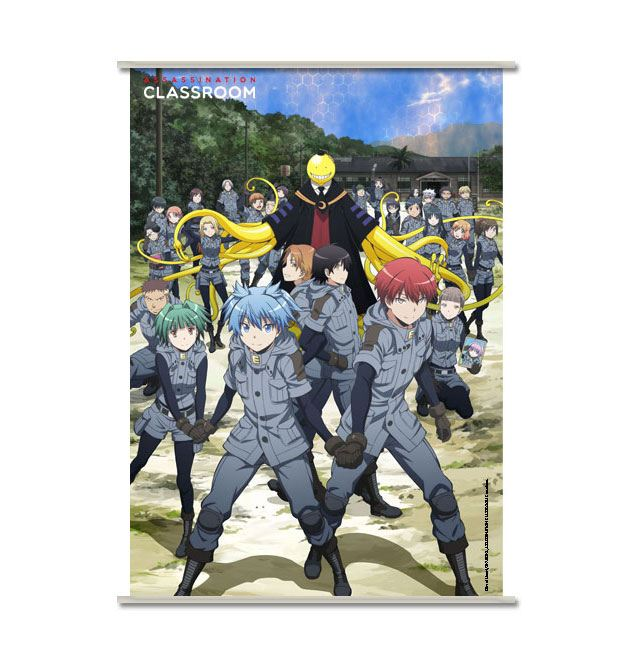 Assassination Classroom Wallscroll Koro & Students in Uniform 90 x 60 cm