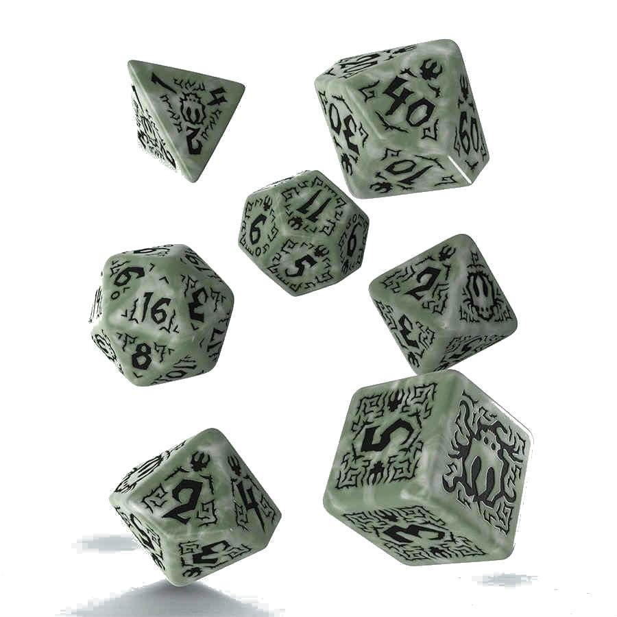 Pathfinder Dice Set Tyrant's Grasp (7)