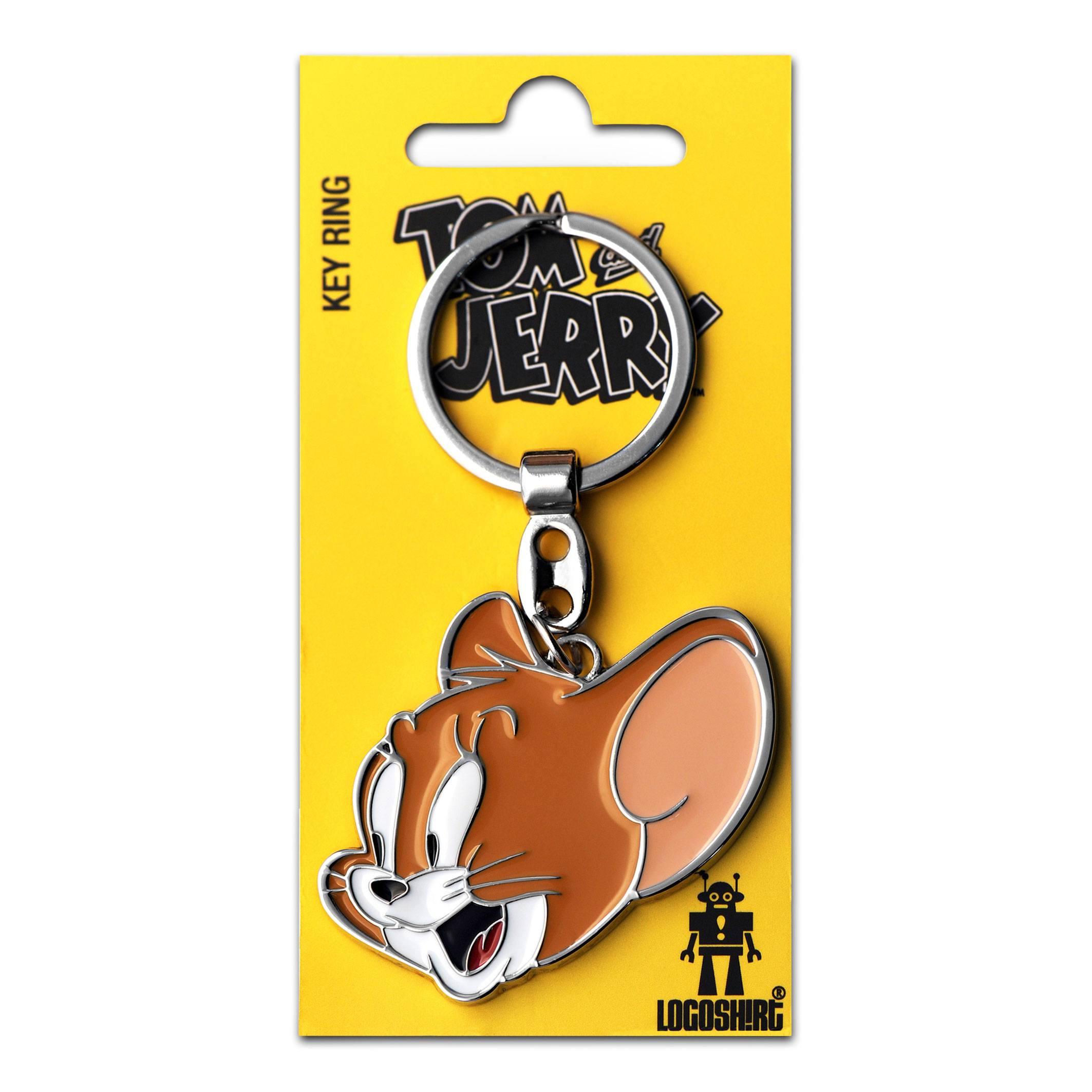 Tom & Jerry Metal Keychain Jerry