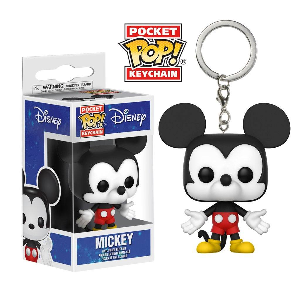 Disney Pocket POP! Vinyl Keychain Mickey Mouse 4 cm