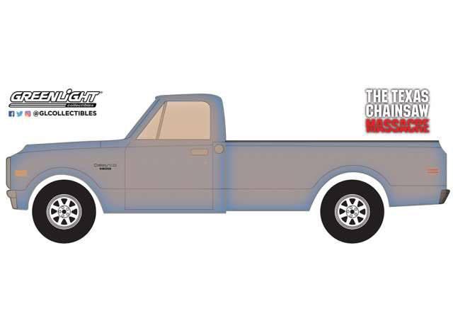 Texas Chainsaw Massacre Diecast Model 1/24 1971 Chevrolet C-10