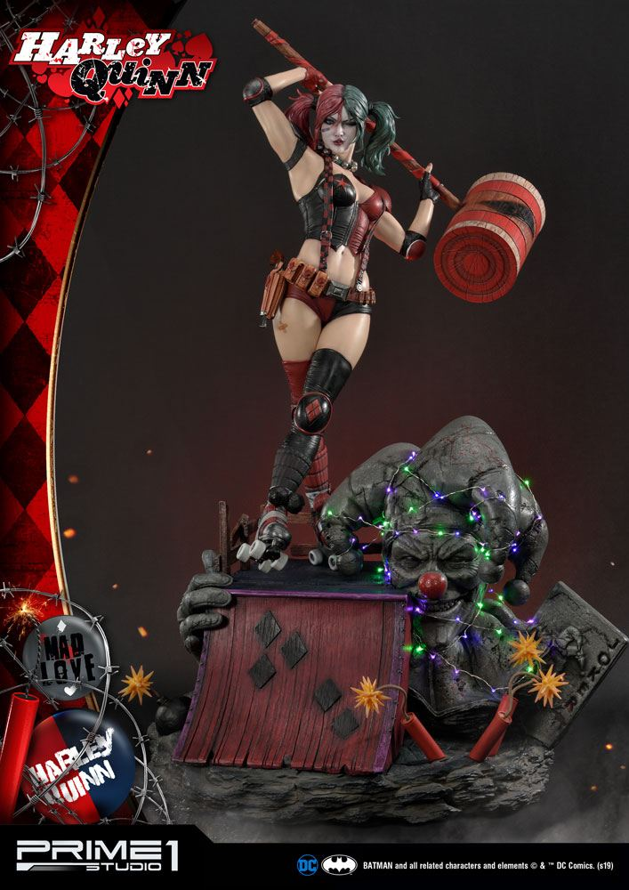 DC Comics Statue Harley Quinn 91 cm