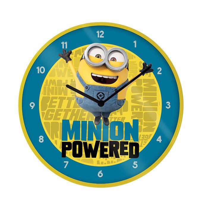 Minions 2 Wall Clock Minion Powered