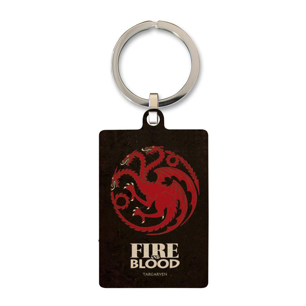Game of Thrones Metal Keychain Targaryen 6 cm