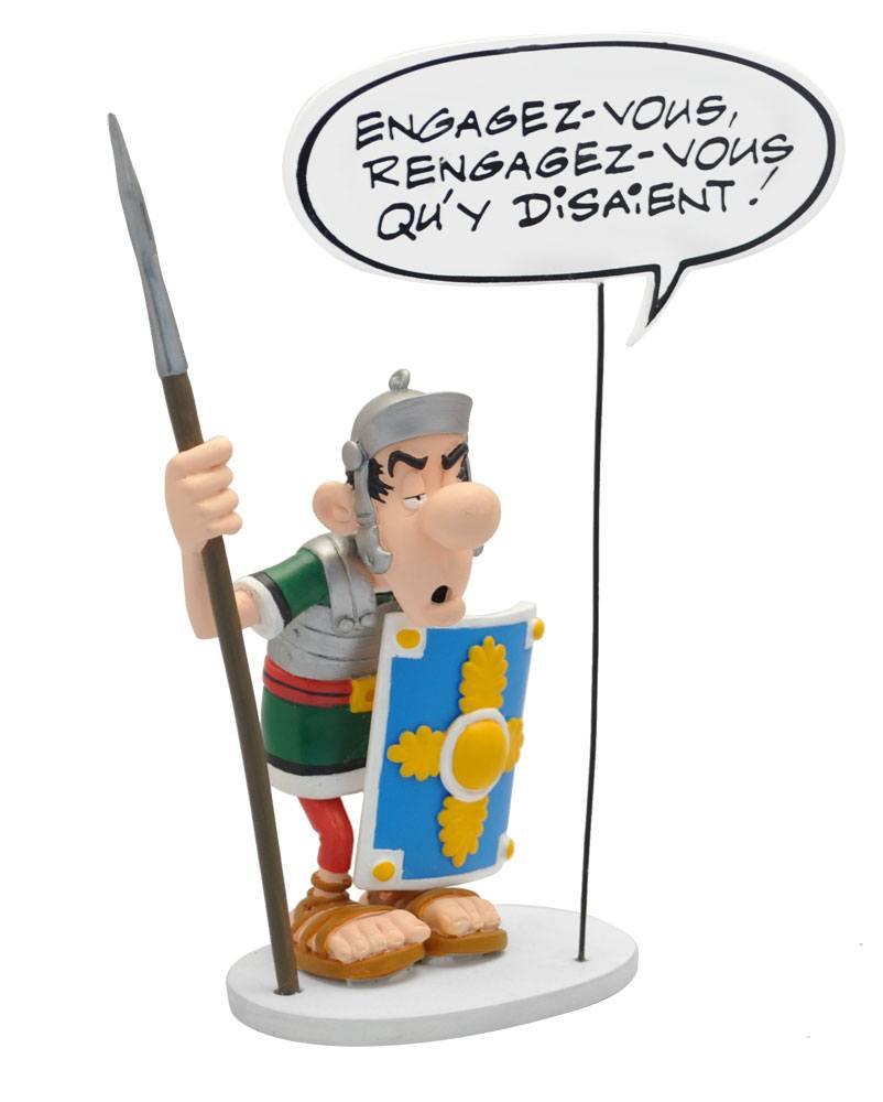 Asterix Collectoys Comics Speech Statue The Roman Legionary 18 cm *French Version*