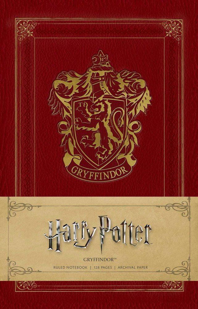 Harry Potter Ruled Notebook Gryffindor