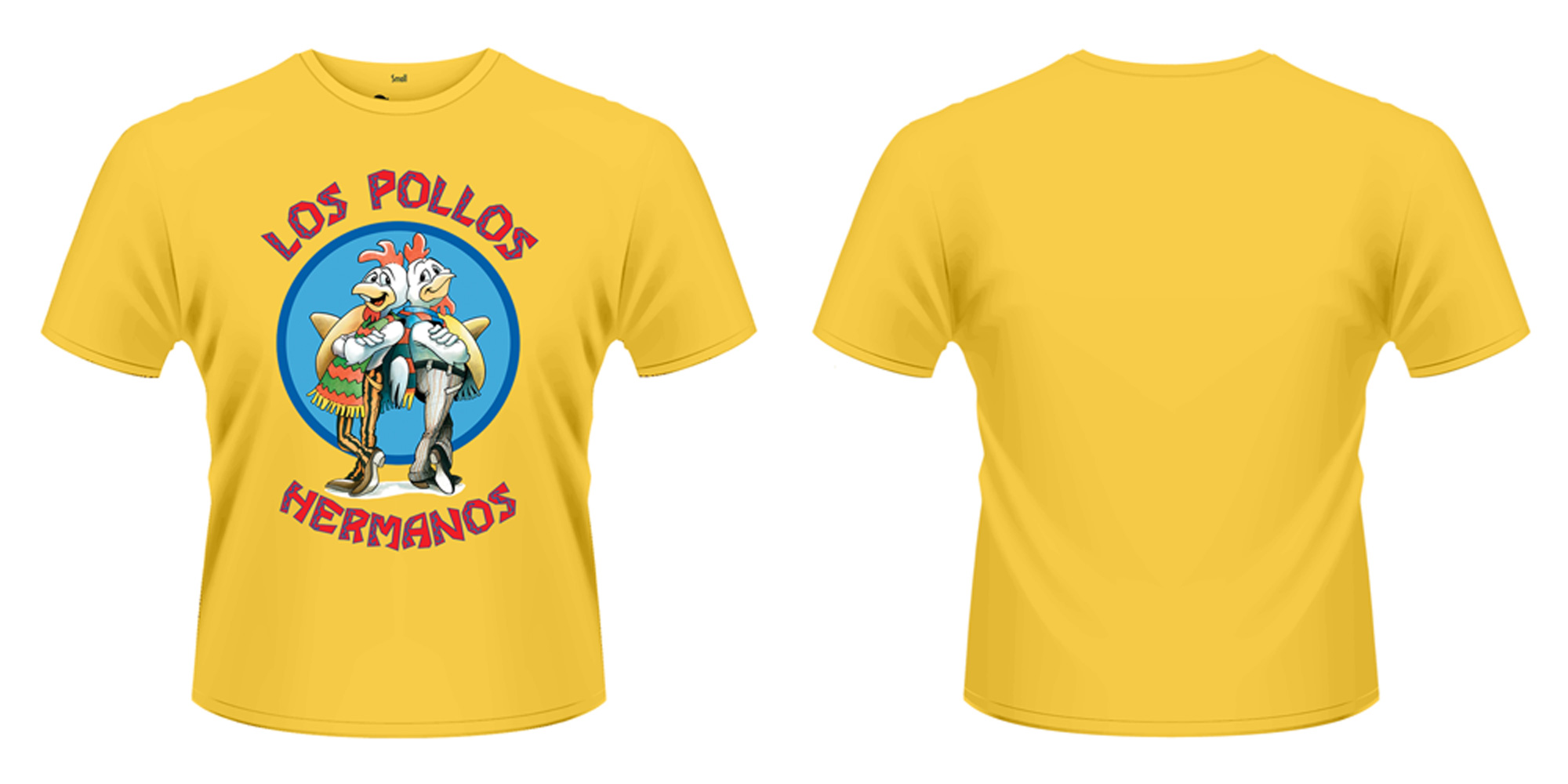 Breaking Bad T-Shirt Los Pollos Hermanos Size L