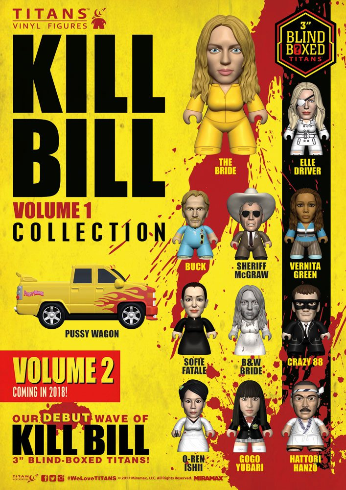 Kill Bill Trading Figure Volume 1 Collection Titans Display 8 cm (18)