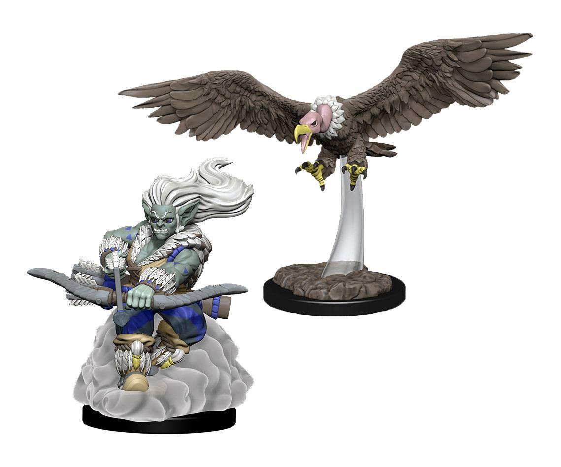 WizKids Wardlings Miniatures Wind Orc & Vulture Case (6)