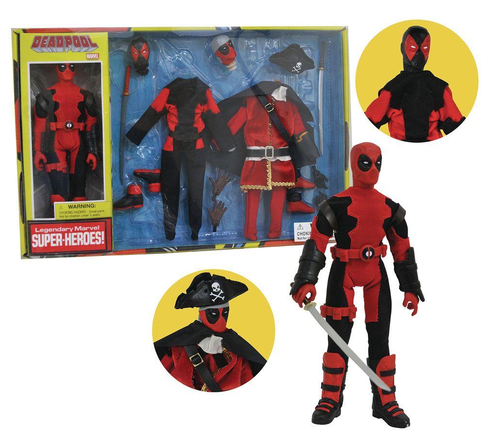 Marvel Retro Action Figure Deadpool Limited Edition Collector Set Vol. 2 20 cm
