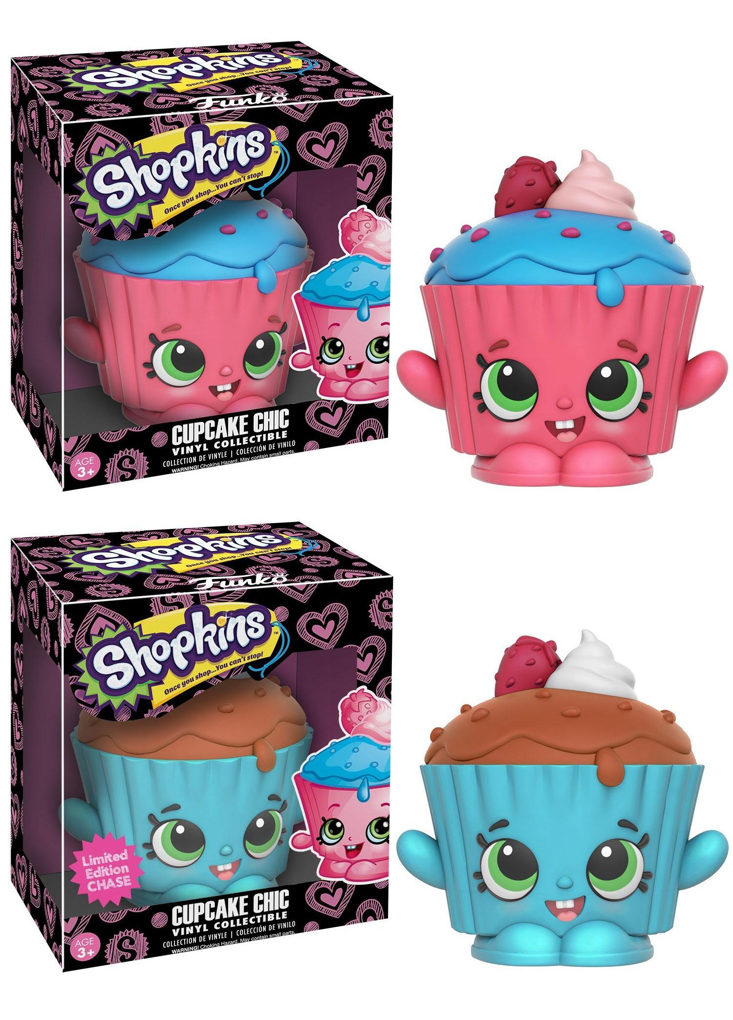 Shopkins Vinyl Collectible Figures Cupcake Chic 9 cm Assortment (6)