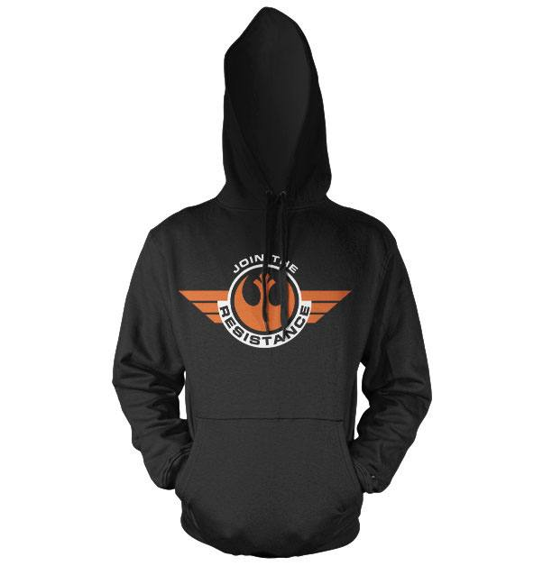 Star Wars Episode VII Hooded Sweater Join The Resistance Size S