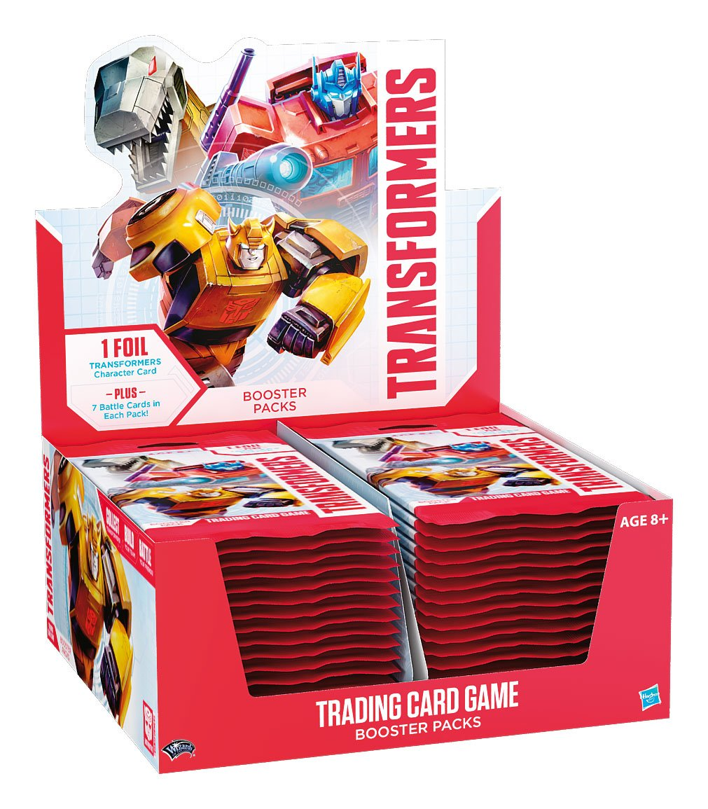 Transformers TCG Booster Display (30) english