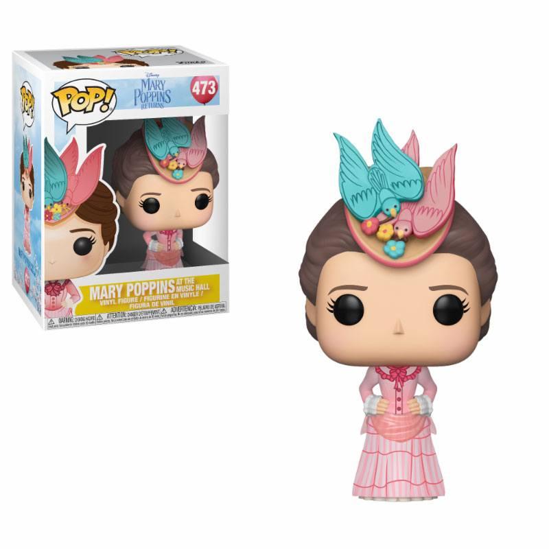 Mary Poppins 2018 POP! Disney Vinyl Figure Mary (Pink Dress) 9 cm