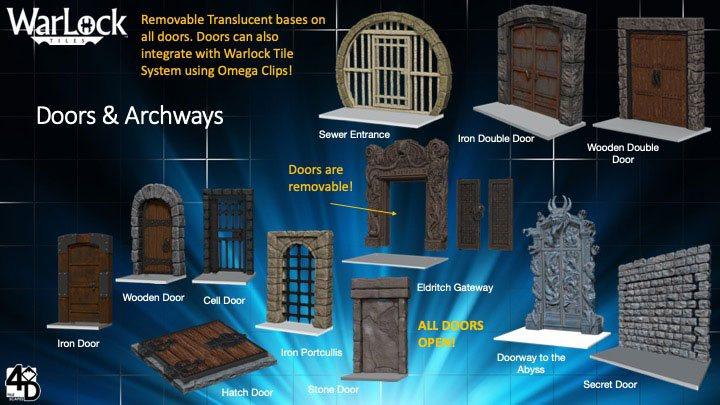 WarLock™ Tiles: Doors & Archways