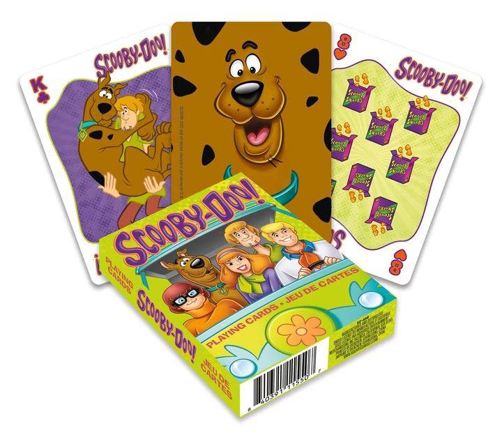 Scooby-Doo Playing Cards Cartoon