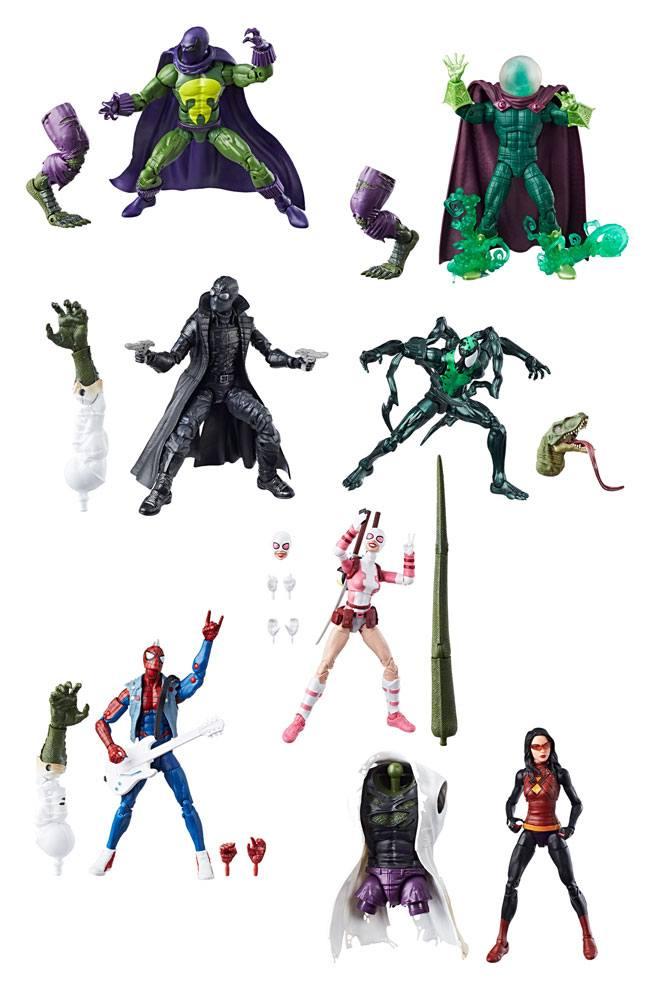 Marvel Legends Series Action Figures 15 cm Spider-Man 2018 Wave 1 Assortment (8)
