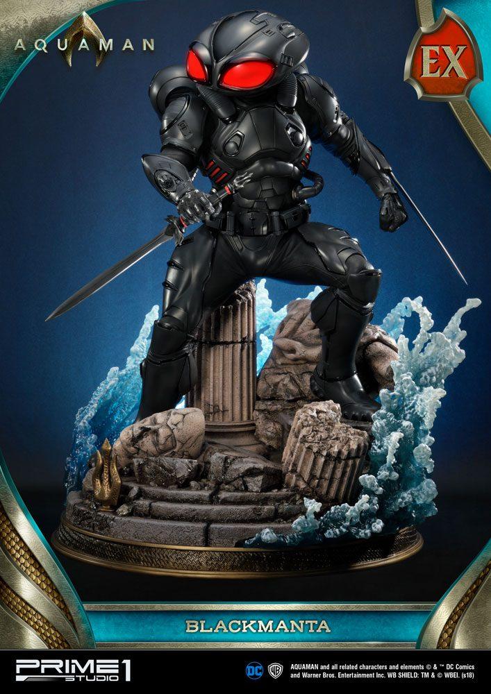 Aquaman Statues Black Manta & Black Manta Exclusive 66 cm Assortment (3)