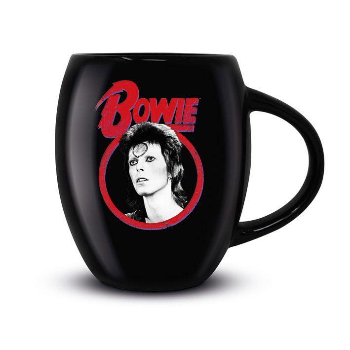 David Bowie Oval Mug Classic Rock